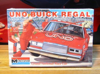 # 1 Uno Buick Buddy Baker Monogram Kit Sealed