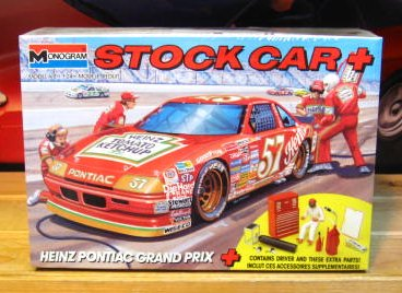 #57 Heinz Hut Stricklin 1989 Grand Prix Monogram Kit Sealed