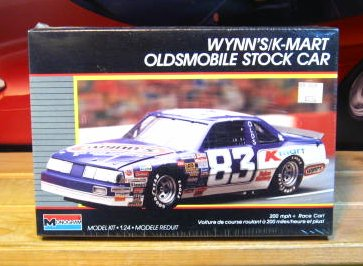 #83 Wynns/K-Mart Lake Speed 1987 Monogram Kit Sealed