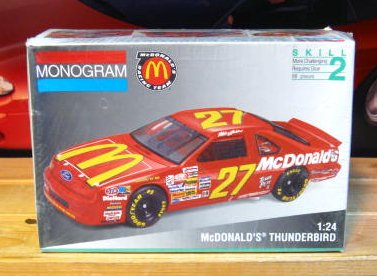 #27 McDonalds Jimmy Spencer 1993 Monogram Kit Sealed