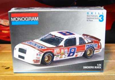 # 8 Snickers Rick Wilson 1991 Buick Monogram Kit Sealed