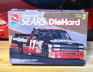 #17 Sears DieHard Chevy Truck AMT Kit Sealed