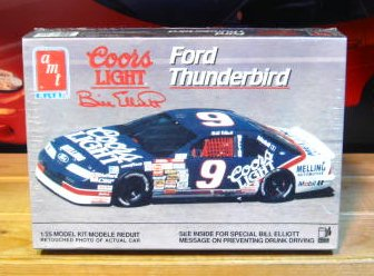 # 9 Coors Light 1991 Thunderbird Bill Elliott AMT Kit