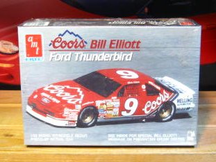 # 9 Coors Bill Elliott 1990 Thunderbird AMT Kit Sealed