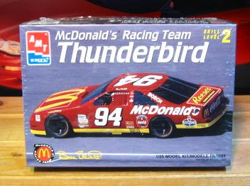 #94 McDonalds 1995 Thunderbird Bill Elliott AMT Kit Sealed