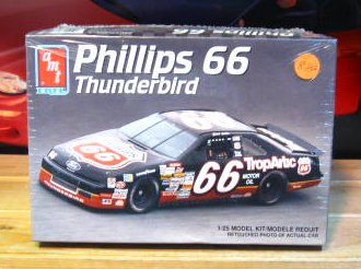 #66 Phillips 66 Chad Little Thunderbird AMT Kit Sealed