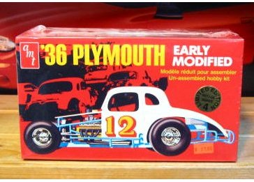 AMT '36 Plymouth Early Modified Kit