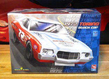 Model King 1972 Torino Stock Car Kit Sealed