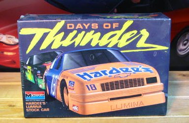 #18 Hardees Days of Thunder Monogram Kit Sealed