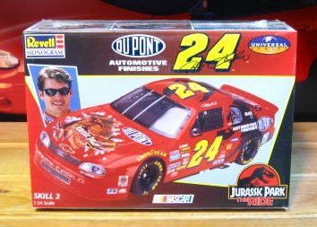 #24 Jurassic Park Jeff Gordon 1997 Monogram Kit Sealed