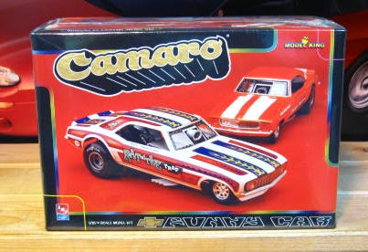 Model King '69 Camaro Funny Car Kit Sealed