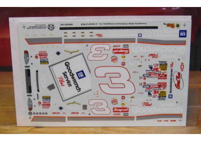 "# 3 Goodwrench ""Sign"" Dale Earnhardt 1999 Slixx"