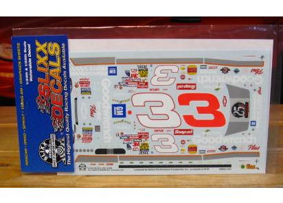 # 3 Goodwrench 25th Ann Dale Earnhardt 1999 Slixx