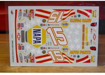 #15 Napa Patriotic 2001 Michael Waltrip Wetworks