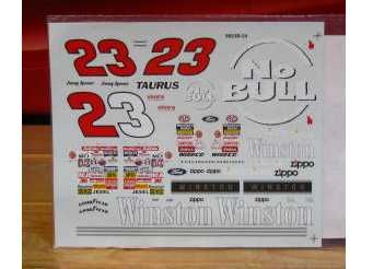 "#23 Winston ""No Bull"" Jimmy Spencer 1998"