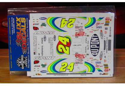 #24 End of Rainbow Jeff Gordon 2000 Slixx