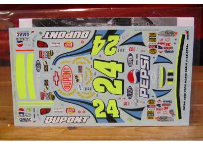 #24 Pepsi Jeff Gordon 2005 JWTBM