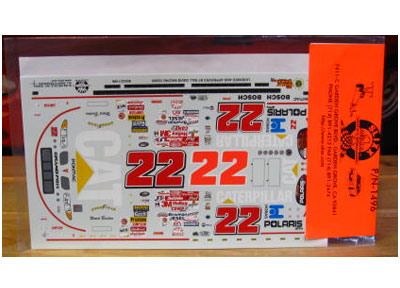 #22 Caterpillar Ward Burton 2000 Slixx