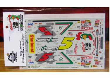# 5 Iron Man 600 Straight 1998 Terry Labonte Slixx