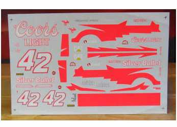 #42 Coors Light Kyle Petty 1995 w/Pink