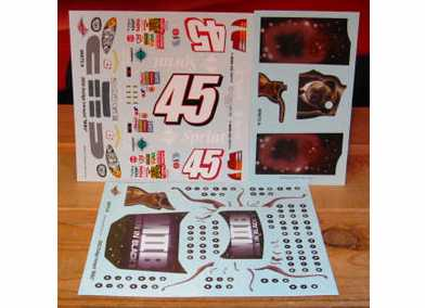 #45 Men in Black II Kyle Petty 2002 Wetworks