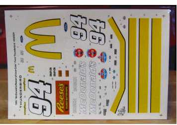 #94 McDonalds Bill Elliott 1995 Mooseworks