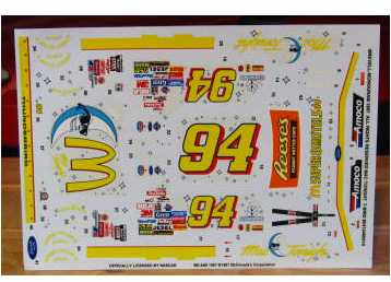 #94 Mac Tonight Bill Elliott 1997 Revell