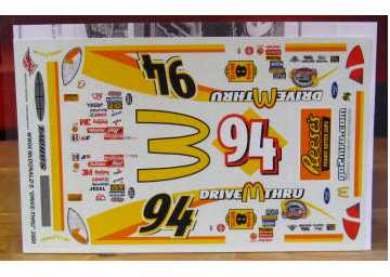 #94 McDonalds Drive Thru Bill Elliott 2000 Wetworks