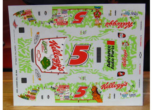 # 5 Grinch Terry Labonte 2000 Wetworks