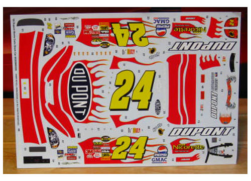 #24 DuPont Jeff Gordon 2006 Revell