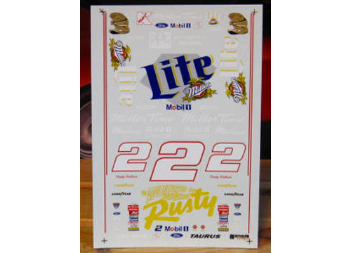 # 2 Adventures of Rusty 1998 Rusty Wallace RaceScale