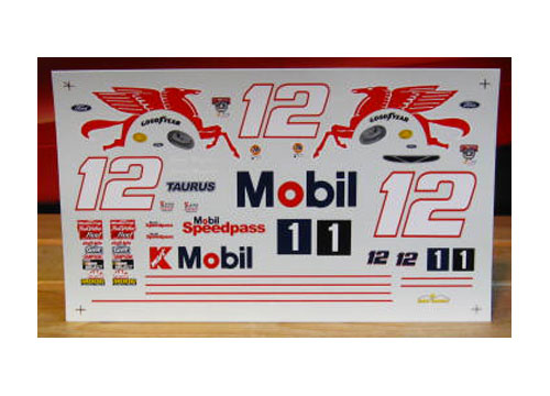 #12 Mobil 1 Jeremy Mayfield 1998 Sunset