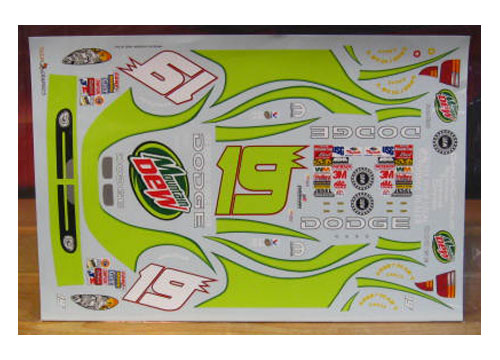 #19 Mountain Dew Jeremy Mayfield 2003