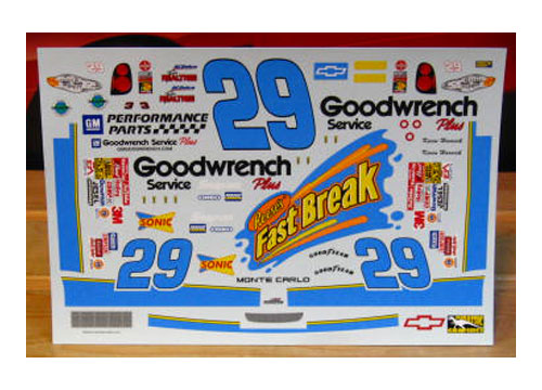 #29 Fastbreak Kevin Harvick 2001