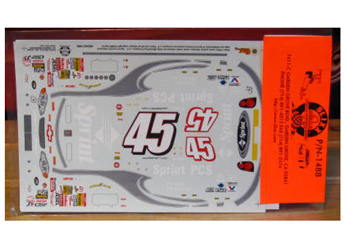 #45 Sprint Adam Petty 2000 Cup Series Slixx