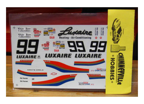 #99 Luxaire Phil Parsons 1995 Chimneyville