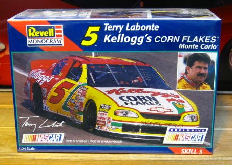 # 5 Kelloggs Terry Labonte 1997 Monogram Kit Sealed