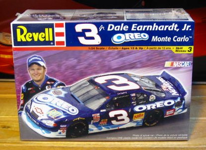 # 3 Oreo Dale Earnhardt Jr 2002 Revell Kit Sealed
