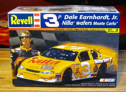 # 3 Nilla Wafers Dale Earnhardt Jr 2002 Revell Kit Sealed