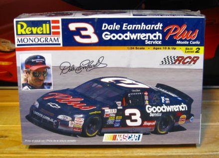 # 3 Goodwrench Dale Earnhardt 1998 Monogram Kit Sealed