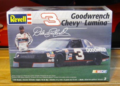 # 3 Goodwrench Dale Earnhardt 1990 Revell 2005 Re-Issue Kit Sealed