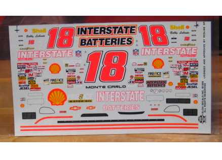 #18 Interstate Bobby Labonte 1996 Slixx 1/32 Scale
