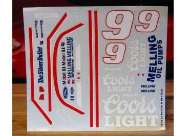 # 9 Coors Light  Bill Elliott 1991 1/18 Scale
