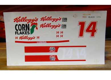#14 Kellogg's Terry Labonte 1993 1/18 Scale