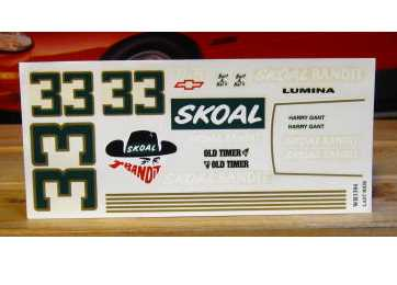 #33 Skoal Last Ride Harry Gant 1994 1/18 Scale
