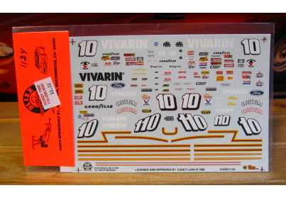 Sprint Car #10 Vivarin Dave Blaney Slixx 1/24 Scale