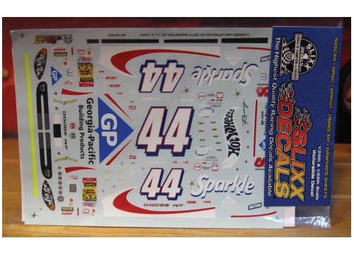#44 Sparkle Buckshot Jones 2001 Slixx