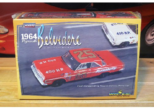 Model King Paul Goldsmith 1964 Belvedere Kit Sealed