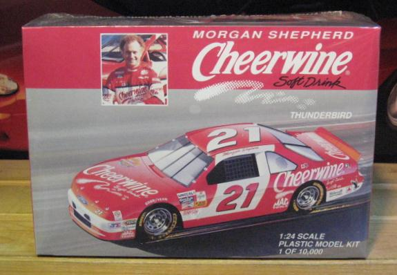 #21 Cheerwine Morgan Shepherd Monogram Kit Sealed