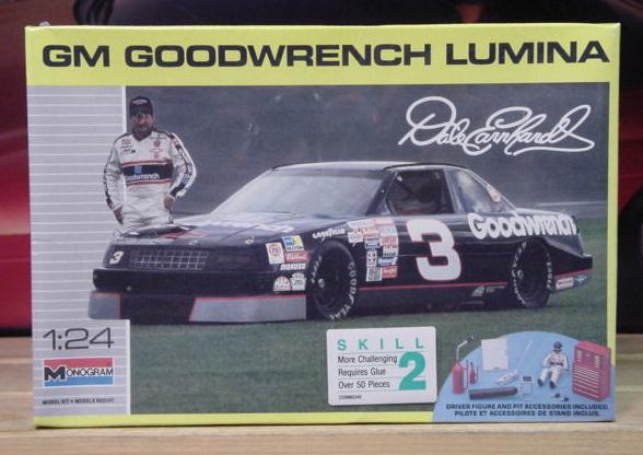 # 3 Goodwrench Dale Earnhardt 1990 Monogram Kit Sealed